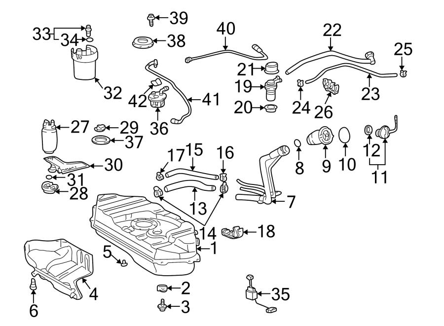Toyota Echo Fuel Injection Pressure Regulator O